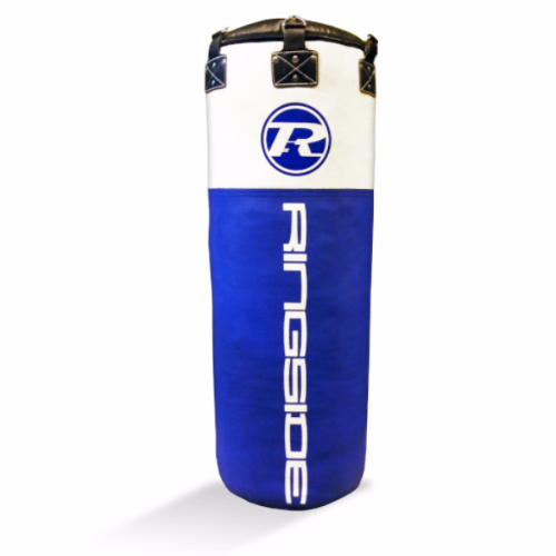 Ringside Jumbo Synthetic Leather Punchbag - Blue/White